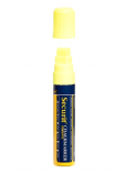 Yellow 15mm Wet Wipe Securit Chalk Marker
